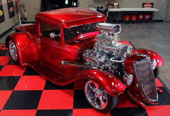 Gorgeous '34 Ford w/ Blown 426 Hemi Power. Awesome American Hot Rod!: