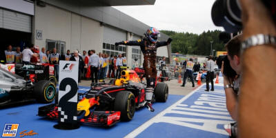 Verstappen named 'Driver of the Day'
